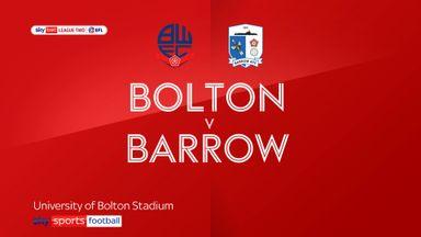 Bolton 1-0 Barrow