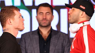 Hearn: No debate on Canelo being number one