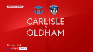 Carlisle 1-3 Oldham