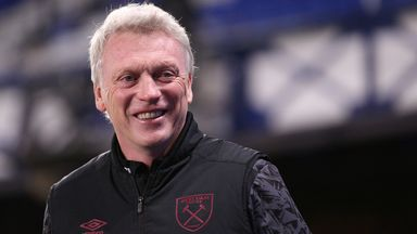 Moyes encouraged by performance vs 'best in Europe'