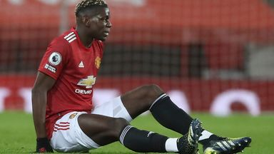 Ole: Pogba out for a few weeks