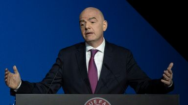 Infantino: FIFA strongly disapproves of ESL