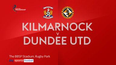 Kilmarnock 3-0 Dundee Utd
