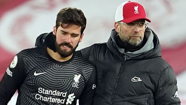 Klopp: I've full confidence in Alisson