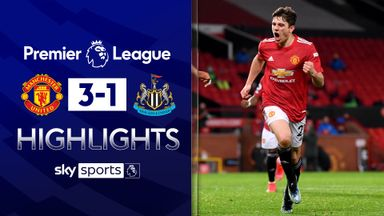 Man Utd move back to second after Toon win