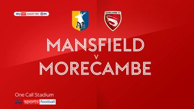 Mansfield 1-0 Morecambe