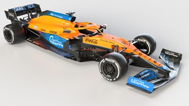 First look: McLaren's 2021 F1 car!