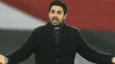 Arteta: Fatigue is no excuse