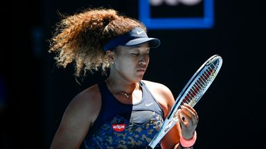 'Osaka is a great thinker on court'