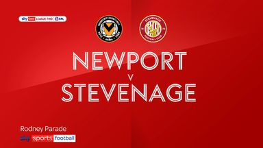 Newport 0-0 Stevenage
