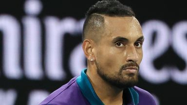 Kyrgios: Djokovic is a strange cat