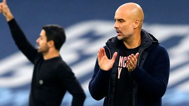 Guardiola: I'm no influence on Arteta