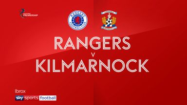 Rangers 1-0 Kilmarnock