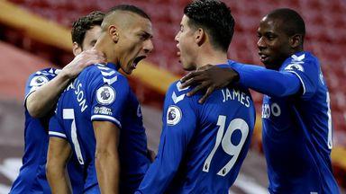 HT Liverpool 0-1 Everton