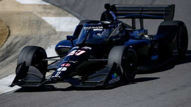 First look: Grosjean's return with IndyCar test