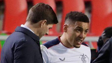 Gerrard 'concerned' by Tavernier, Roofe injuries