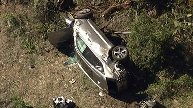 LA Sheriff: Speeding cause of Woods crash