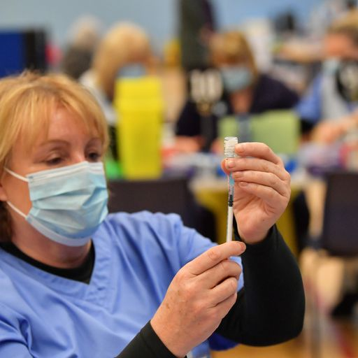 Government aims for all over-50s to be reached in vaccine drive by May