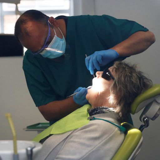 Less than half of adults saw NHS dentist in past two years, figures show