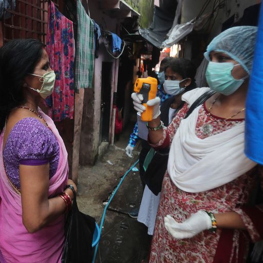 Experts left puzzled by sudden drop in coronavirus cases in India