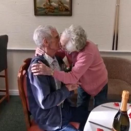 Bolton couple reunited after 12 months apart due to pandemic