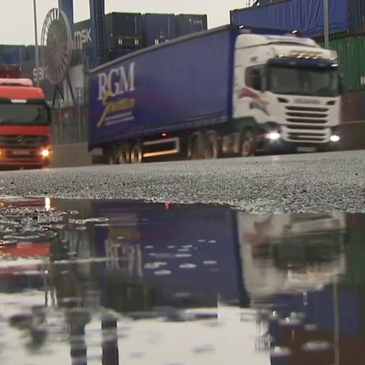 Northern Ireland Protocol trade arrangements have created 'a perfect storm'