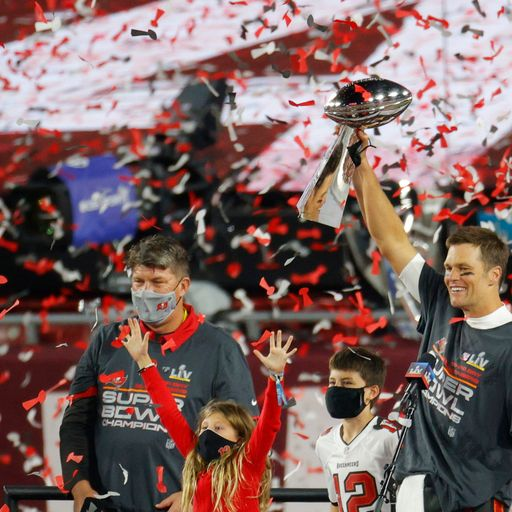 Tampa Bay Buccaneers win Super Bowl as Tom Brady gets record seventh win