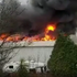 skynews denton fire greater manchester 5280800 Major incident declared after fire rips through three-story warehouse in Manchester Football Merchandise