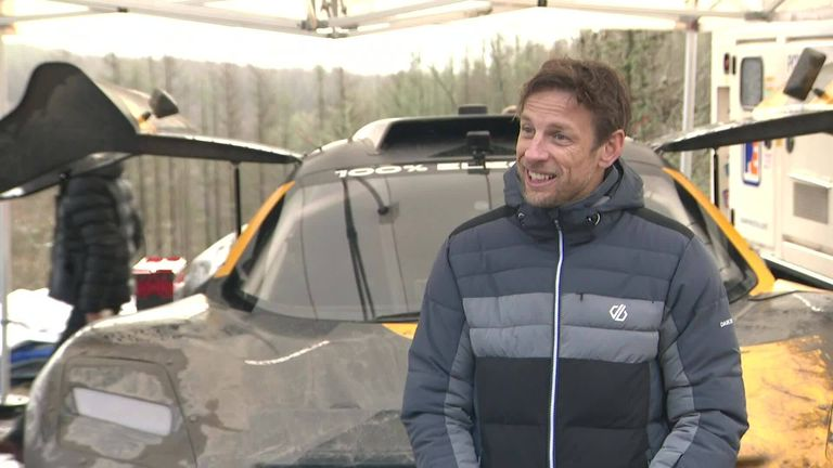 Former Formula 1 world champion Jenson Button speaks to Sky Sports F1's Craig Slater about owning a team in the Extreme E racing series, which also features Lewis Hamilton and Nico Rosberg as team owners