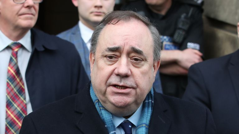 File photo dated 23/3/2020 of Alex Salmond who has rejected an invitation to appear in front of the committee looking into the handling of complaints made against him.