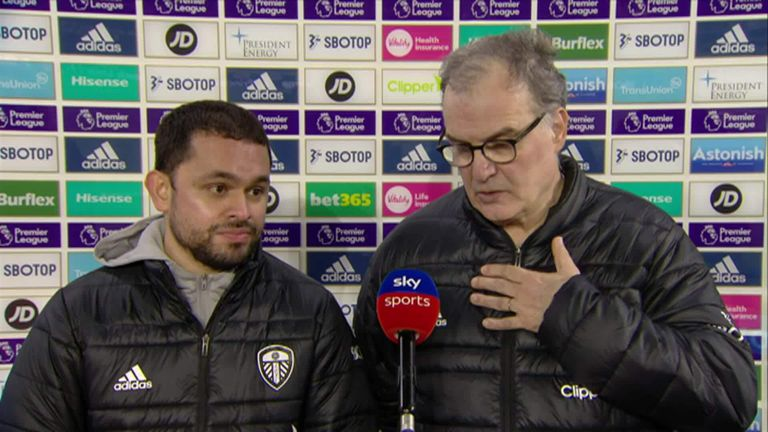 Marcelo Bielsa speaks about his Leeds future following their 3-0 win over Southampton on Tuesday night