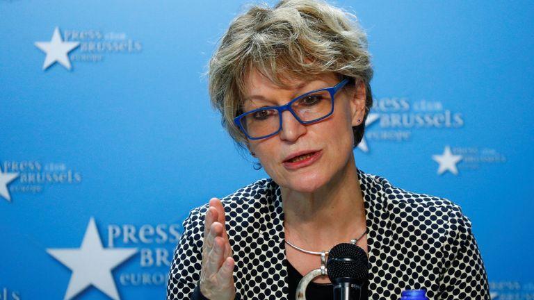 Agnes Callamard, independent expert on extrajudicial killings for the UN