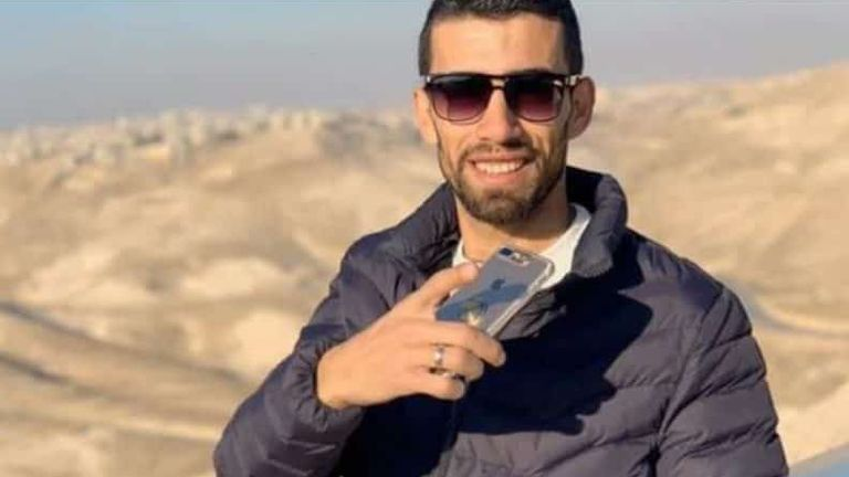 Ahmad Erekat was killed last year. Pic: Facebook