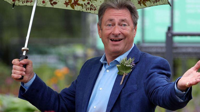TV gardener Alan Titchmarsh
