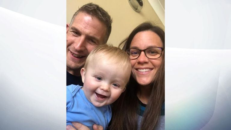 Alex Croucher says he felt 'distant' and 'completely detached' after the birth of his son Fraser