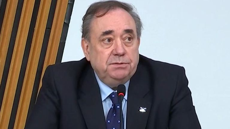 Alex Salmond appears before inquiry into investigation of harassment claims against him