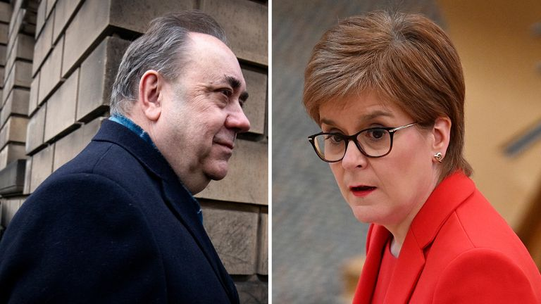 Alex Salmond has accused Nicola Sturgeon of breaching the ministerial code, but she has repeatedly denied doing so