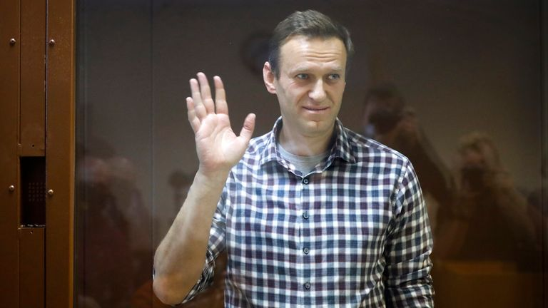 Navalny allies plan protests over Putin critic's health as doctor says he 'could die at any moment'