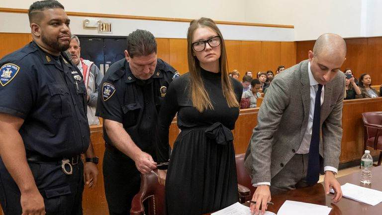 A fake German heiress had been convicted of multiple fraud charges after conning banks, hotels and friends to fund an implausibly lavish New York lifestyle