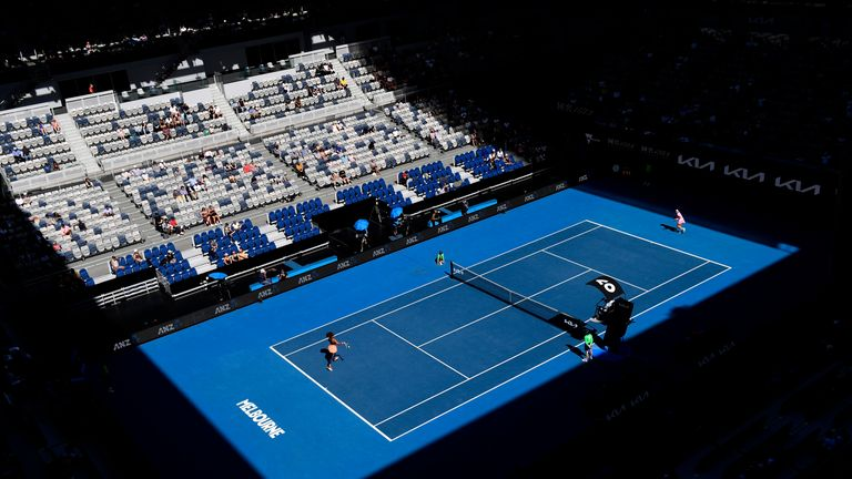 The Grand Slam tournament will go ahead without crowds for five days
