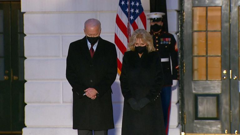President Biden said 'we remember each person and the life they lived'