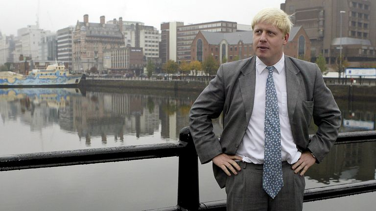 Boris Johnson, while an MP and editor of The Spectator in 2004