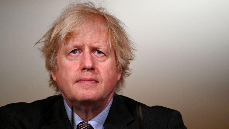 Boris Johnson is facing pressure from the NRG