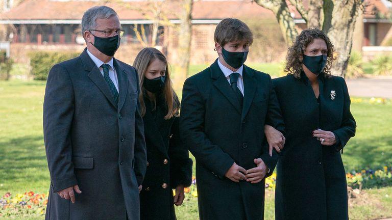 Tom Moore funeral