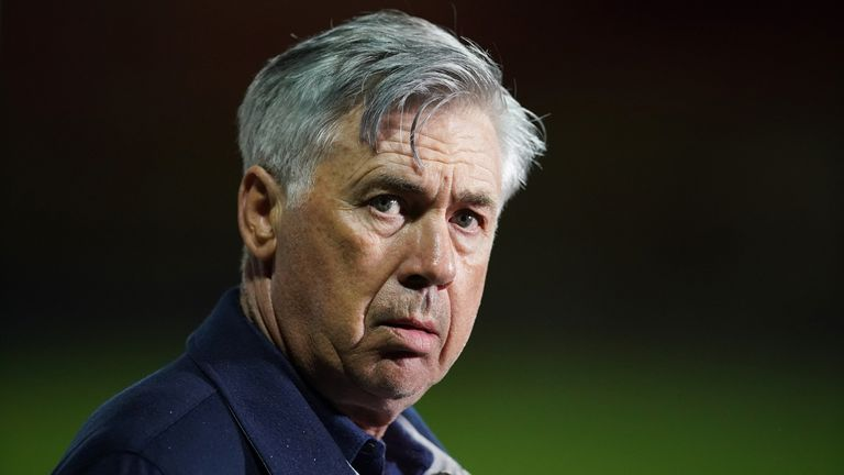 Masked burglars targeted Carlos Ancelotti's Merseyside home, according to reports