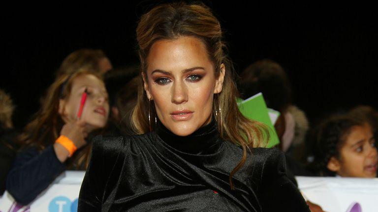 Caroline Flack pictured at the Pride of Britain Awards in 2018> Pic: Joel C Ryan/Invision/AP