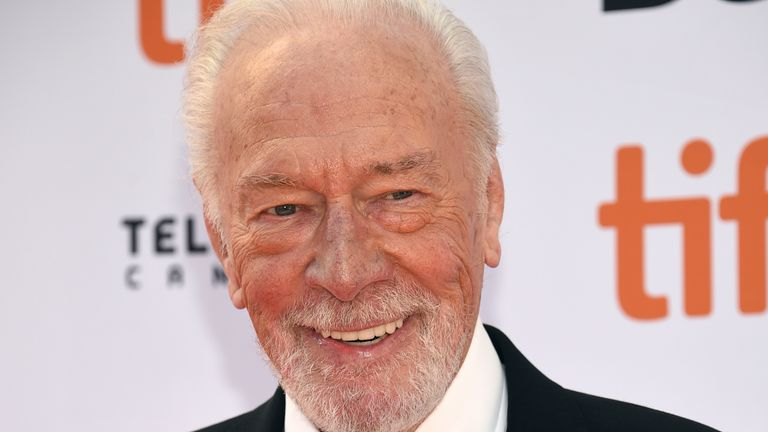 "Christopher Plummer attends the premiere for ""Knives Out"" on day three of the Toronto International Film Festival at the Princess of Wales Theatre on Saturday, Sept. 7, 2019, in Toronto. (Photo by Evan Agostini/Invision/AP)"