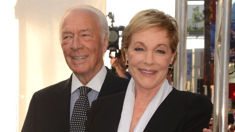 """Add to lightbox 2015 TCM Classic Film Festival Presents the 50th Anniversary Screening of """"The Sound of Music"""" 26 March 2015 - Hollywood, California - Christopher Plummer, Julie Andrews. Arrivals for the 50th Anniversary Screening of """"The Sound of Music"""" presented by tas the opening night gala of the 2015 TCM Classic Film Festival held at TCL Chinese Theatre. Photo Credit: Birdie Thompson/AdMedia *** Please Use Credit from Credit Field ***"""