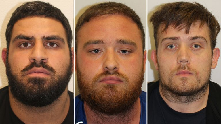 The men were sentenced at Snaresbrook Crown Court in Redbridge, London for their involvement in supplying cocaine
