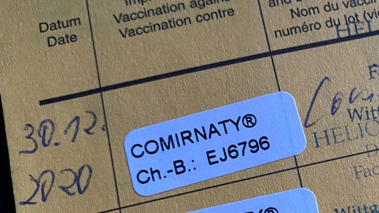 Vaccination certificates will be needed for travel to some countries